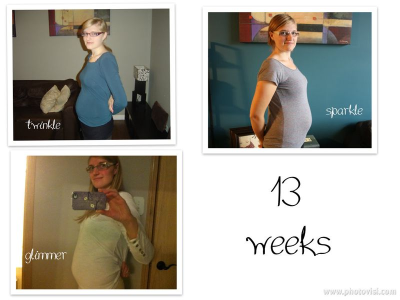 13 weeks collage