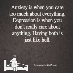 Anxiety depression quote